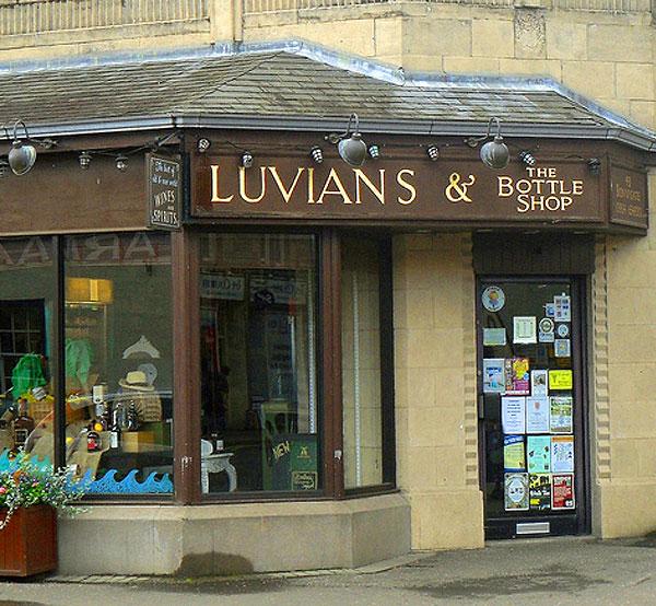 Shop, Cupar, Fife, Luvians