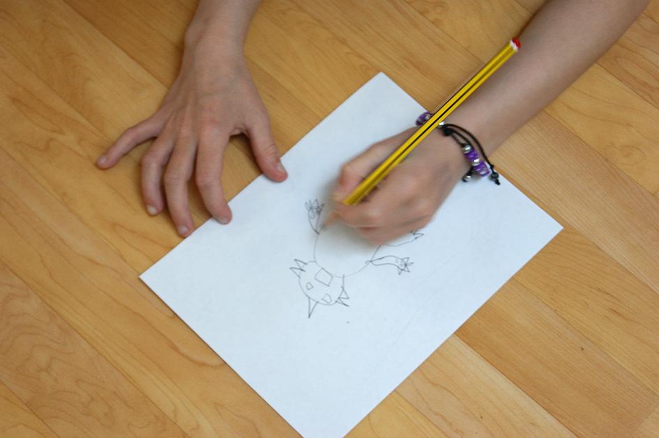 Cupar Arts Festival, Monster Drawings