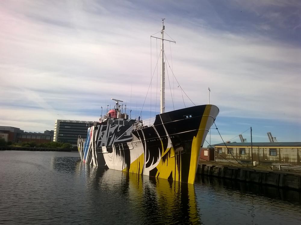 EAF Dazzle Ship